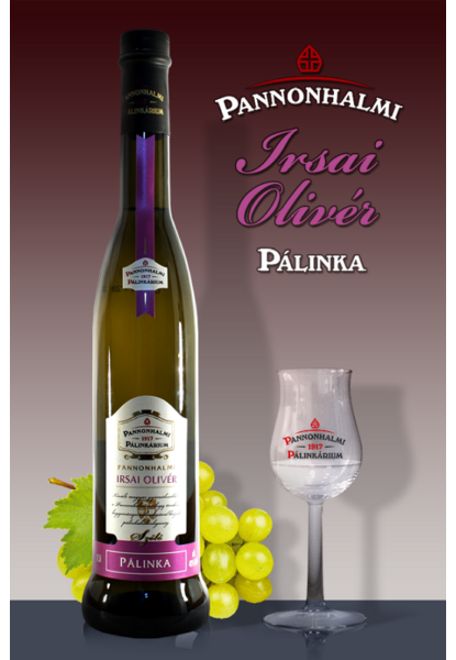 Pannonhalmi Irsai Olivér szőlőpálinka