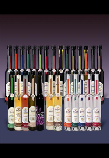 Pannonhalmi Pálinka mini palackos termékek